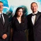 Наградените: операторът Мартин Димитров (вляво) и режисьорът Станислав Дончев