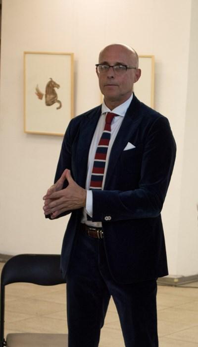 Италианският дизайнер Алберто Веделаго работи в сферата на модата от 40 г. СНИМКА: Снимка: Авторът