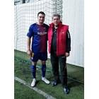 Калоян Паргов и Георги Първанов играха заедно футбол. СНИМКИ: ФЕЙСБУК НА КАЛОЯН ПАРГОВ