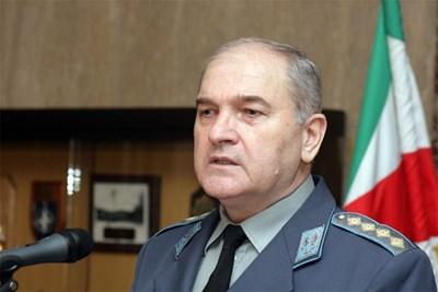 Генерал Симеон Симеонов, началник на отбраната СНИМКА: Пиeр Пeтров