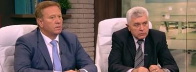 Доц. Маринчо Георгиев и д-р Тошко Тодоров Кадър: Би Ти Ви