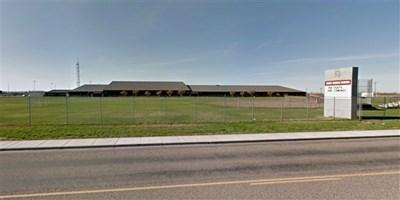 Средното училище в Ригби в окръг Джеферсън, Айдахо Снимка: Google Maps