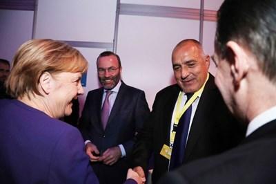 Борисов пред Меркел: ЕНП трябва да запази лидерските си позиции в ЕС