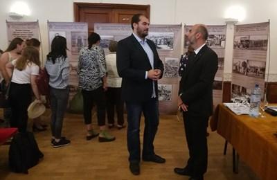 Емил Врежаков и Явор Стоянов – съветник в службата по култура, образование и наука в българското посолство в Румъния