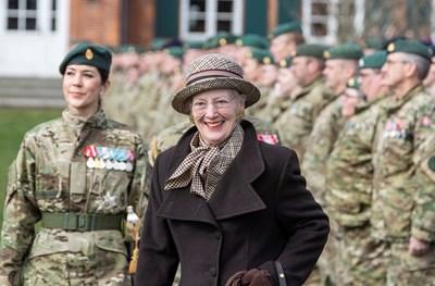 Датската кралица Маргрете  Снимка: Ройтерс
