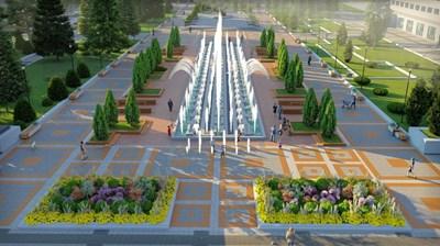 """Новата визия на площад """"Жеравица"""""""