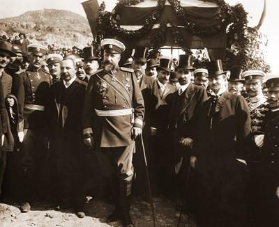 Цар Фердинанд обявява независимостта на България през 1908 г.