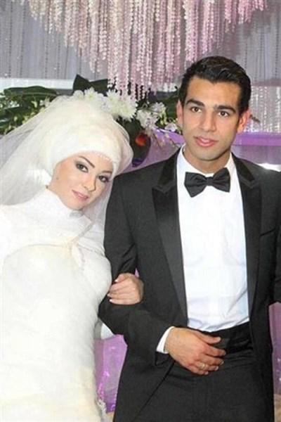 Сватбена снимка на семейство Салах