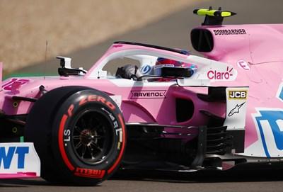 """Четири отбора от Формула 1 обжалват малката санкция на """"Розовия Мерцедес"""", както е известен """"Рейсинг Пойнт"""". СНИМКА: РОЙТЕРС"""