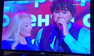 Азис с майка си в шоуто на Рачков СНИМКА: Кадър: Нова тв