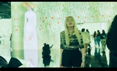 Мадона на изложбата на Ван Гог Кадър: Инстаграм