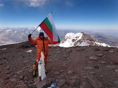 Алпинистът от Сливен покори и най-високия връх на Южна Америка Аконкагуа.