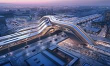 Гара-мост за Талин от Zaha Hadid Architects