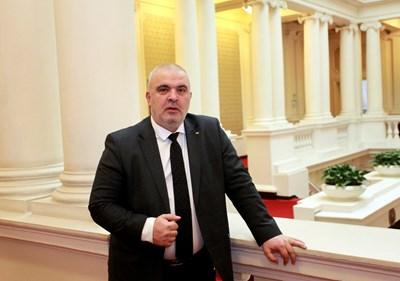 Маноил Манев - депутат от ГЕРБ СНИМКА: Велислав Николов