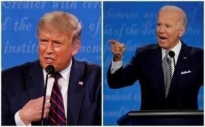 Доналд Тръмп и Джо Байдън СНИМКА: Ройтерс
