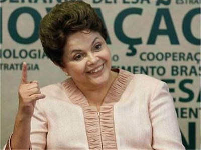 Дилма Русеф обявява на 29 септември мерки за усилване на националната отбранителна индустрия на Бразилия. СНИМКА: РОЙТЕРС