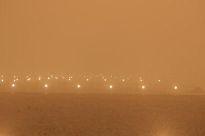 Пясъчна буря затвори летищата на Канарските острови (Снимки, видео)