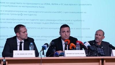 """""""Ако конгресът е честен, нямам съмнение, че ние ще спечелим"""", заяви Димитър Бербатов. Снимка ЙОРДАН СИМЕОНОВ"""