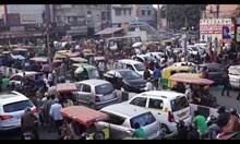 Tрафик в Делхи