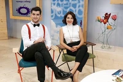 Александър Кадиев и Деси Стоянова са екранна двойка от 6 февруари 2012 г. СНИМКА: Би Ти Ви