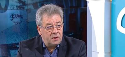Валери Йорданов, бивш шеф на СДВР Кадър: БНТ