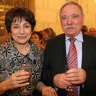 Георги Иванов със съпругата  си Лидия