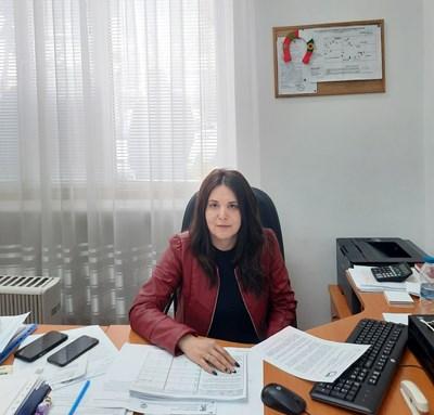 """Мая Димитрова, директор на Регионална дирекция """"Социално подпомагане"""" – Силистра"""