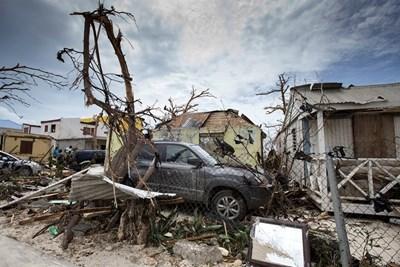 Щетите от урагана Ирма  СНИМКА: Ройтерс