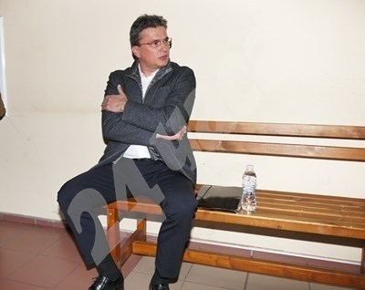 Бисер Лазов е един от ключовите свидетели по процеса. Снимка: Пиер Петров