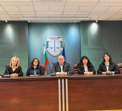 СНИМКА: Прокуратура на Република България