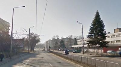 "Булевард ""Сливница"" във Варна СНИМКА: Гугъл стрийт вю"