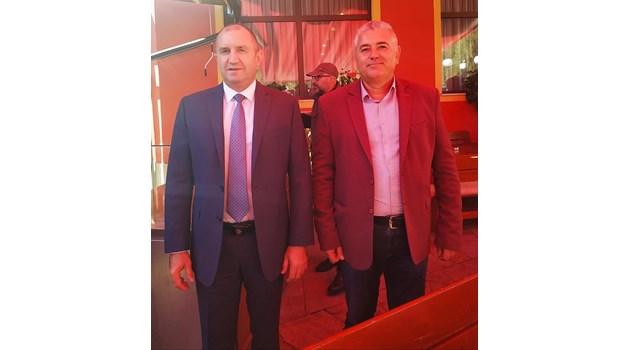 Президентът се включи в предизборната кампания на червения кандидат за Смолян
