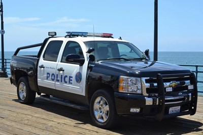 Полицейска кола в САЩ Снимка: Пиксабей