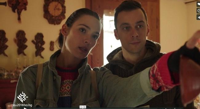 Лорина Камбурова и Бойко Кръстанов в рекламния клип на България от началото на 2018-а