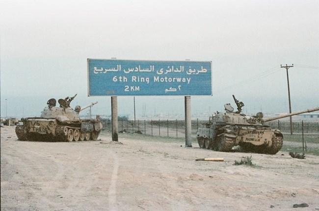 Резултат с изображение за Саддам Хюсеин анексира Кувейт