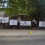 13 на протест срещу Радев в Пловдив