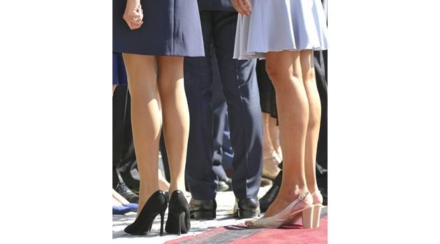 Облеклото на Радева си беше абсолютно адекватно! Късите роклички на Бриджит са по-противоречиви