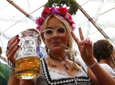 На германките се дължи бумът на бирите с различен вкус.  СНИМКИ: РОЙТЕРС