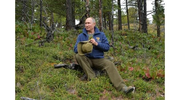 Путин ще празнува 67-ия си рожден ден с приятели в сибирската тайга