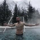 Андрей Гълъбинов в басейна