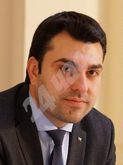 Председателят на МГЕРБ Георг Георгиев СНИМКА: 24 часа
