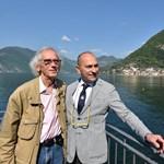 Кристо и кметът Фиорело Турла през 2016 г. СНИМКИ: ФЕЙСБУК