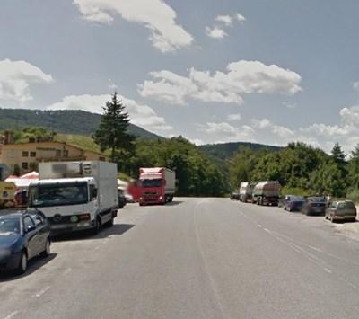 При Прохода на Републиката. СНИМКА: Google Street View