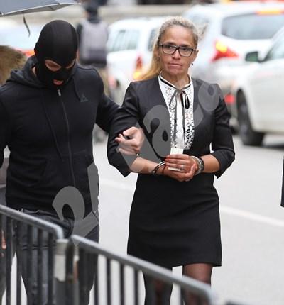 Десислава Иванчева бе задържана на 17 април м.г. пред Министерството на младежта и спорта в София. СНИМКА: 24 часа