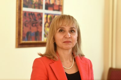 Диана Ковачева СНИМКА: Пресофис на омбудсмана