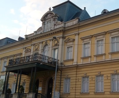 Крилото на Двореца, в което е етнографския музей, претърпя сериозен ремонт, какъвто не беше правен от десетилетия. СНИМКА: Архив