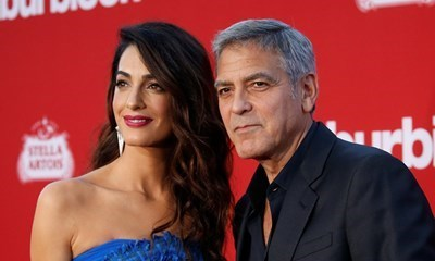 Амал и Джордж Клуни СНИМКА: РОЙТЕРС