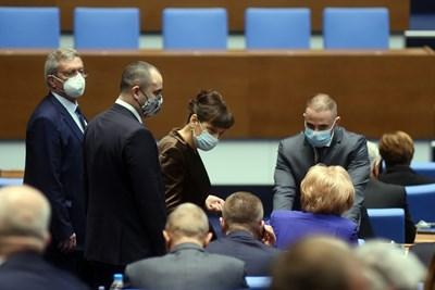 Депутатите приеха промени в Закона за отбраната. СНИМКА: Велислав Николов