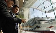 Започна изграждането на първия китайски круизен кораб
