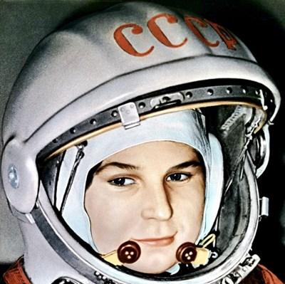 Най-известната снимка на Валентина Терешкова, която стана символ на женския пробив в Космоса.